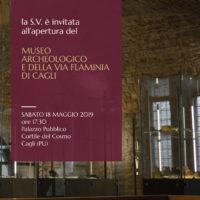 MUSEO  ARCHEOLOGICO E DELLA VIA FLAMINIA DI CAGLI