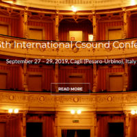 THE 5TH INTERNATIONAL CSOUND CONFERENCE